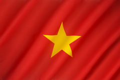 flag-vietnam-end-war-south-used-yellow-three-red-stripes-red-north-50942246