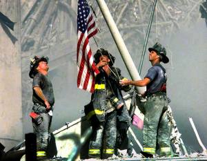september-11-ground-zero-flag
