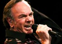 Neil Diamond performs at the Quest Center in Omaha, Neb., as part of his 2005 tour Monday night, July 25, 2005. (AP Photo/The Daily Nonpareil, Ben DeVries) ORG XMIT: IACOU101